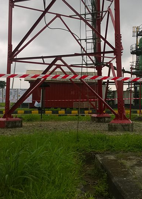 Agbada 1 Flowstation 56m Tower Painting